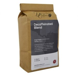 decaffeinated blend coffee