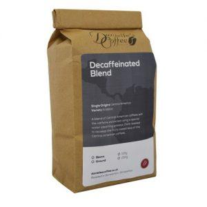 Decaf coffee blend