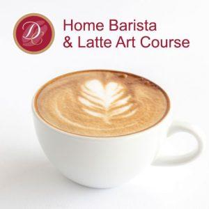 home barista latte art course