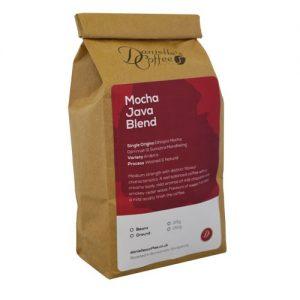 Mocha Java blend coffee
