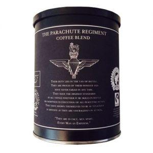 Parachute regiment coffee tin